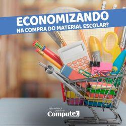 Economizando na compra do material escolar
