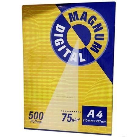 Papel Sulfite A4 Magnum Digital 75 Gramas