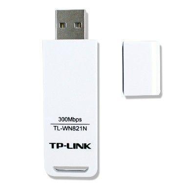 Adaptador Wireless TP-Link 300Mbps USB Adapter TL-WN821N
