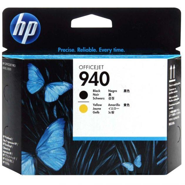 Cabeça de impressão 940 preto/amarelo C4900A