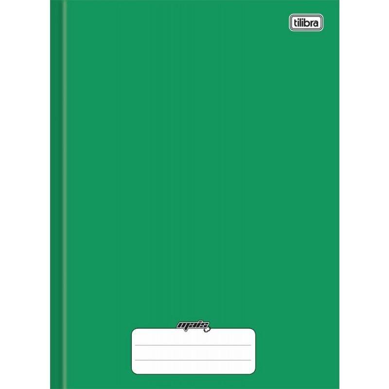 Caderno universitário 96 fls verde