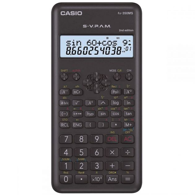 Calculadora Casio FX-82MS Científica Preta