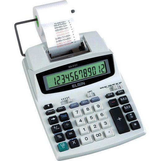 Calculadora Elgin MA-5121 para Impressão