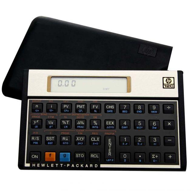 Calculadora HP 12C gold financeira