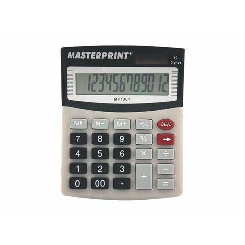 Calculadora masterprint MP1061 12 digitos