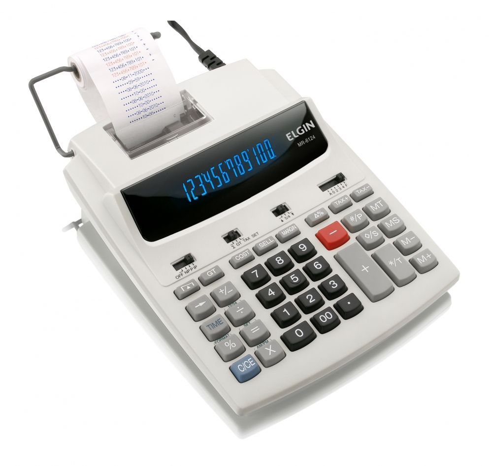 Calculadora MR 6124 Elgin