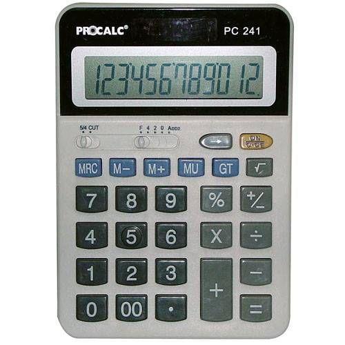 Calculadora Procalc PC241 12 Dígitos Mesa