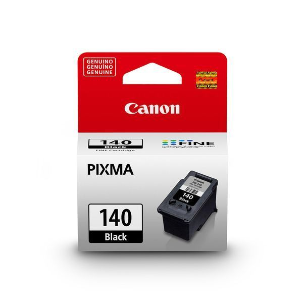 Cartucho Canon 140 preto com 8 ml