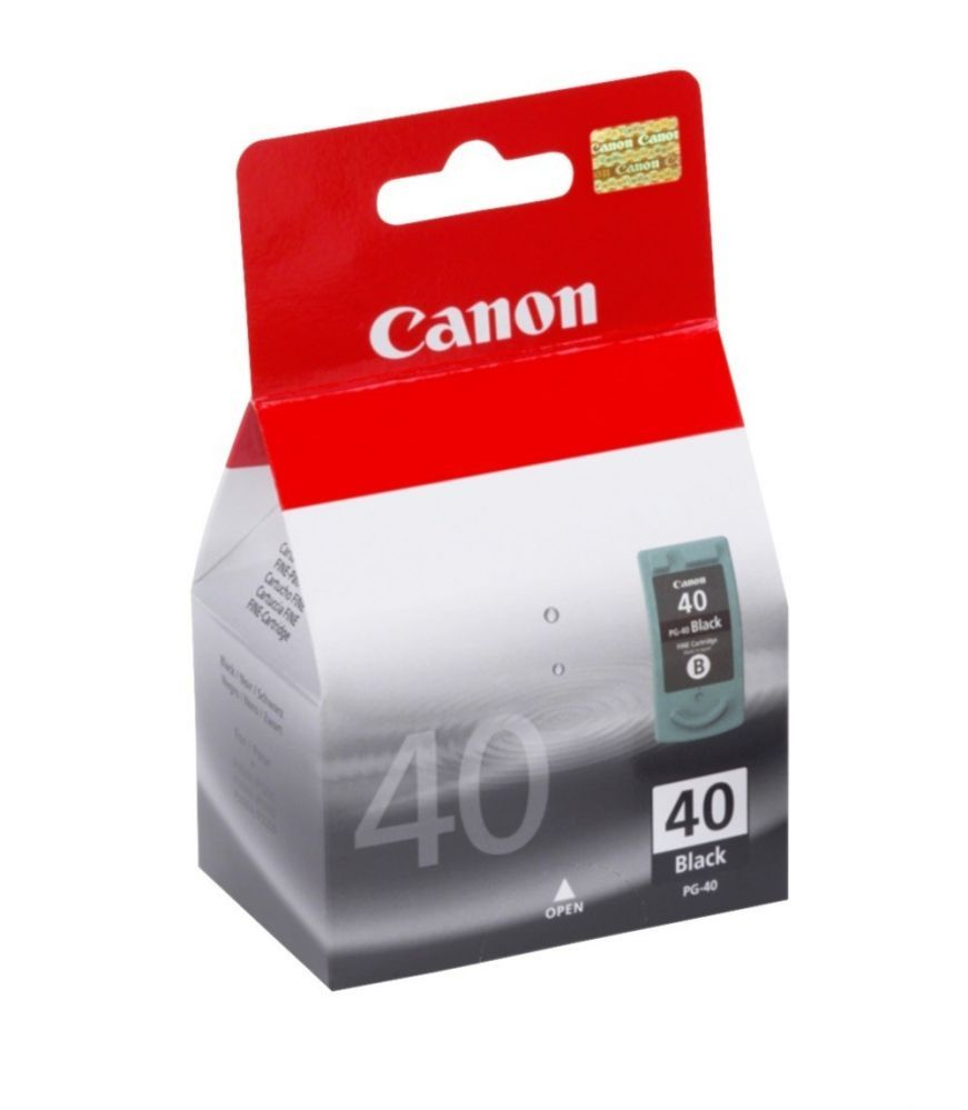 Cartucho Canon 40 Original PG40 16 ml - Preto