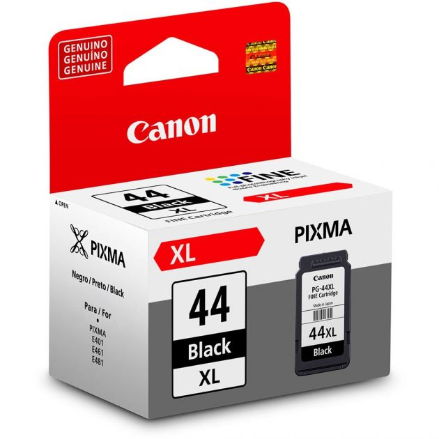 Cartucho Canon 44XL Preto PG44XL 15 ml