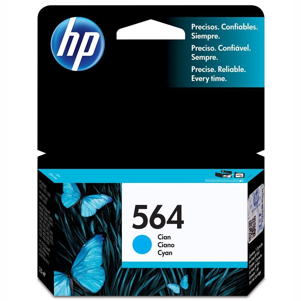 Cartucho HP 564 Original Ciano CB318WL 3,5 ml
