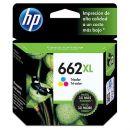 Cartucho HP 662XL colorido CZ106AB 8 ml