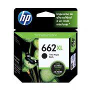 Cartucho HP 662XL preto CZ105AB 6,5 ml