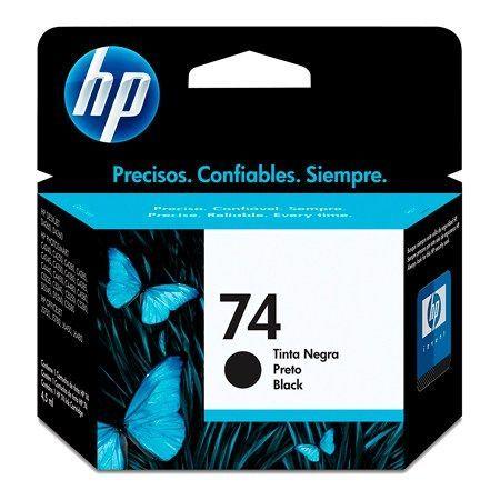 Cartucho HP 74 preto CB335WB 5,5 ml