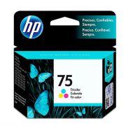Cartucho HP 75 Original Colorido CB337WB 6 ml