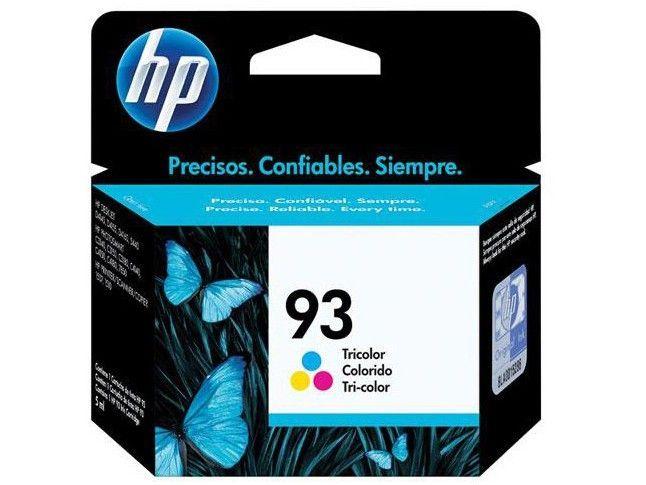 Cartucho HP 93 Original Colorido C9361WB 7 ml