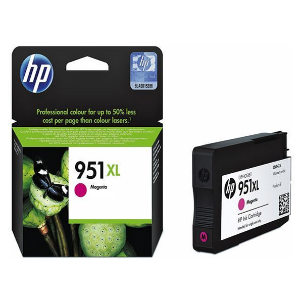 Cartucho HP 951XL Original Magenta CN047AB 17 ml