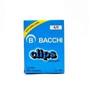 Clips Galvanizado 4/0 Caixa com 500g Bacchi