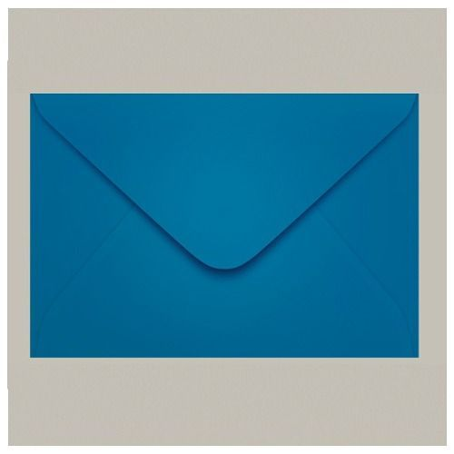 Envelope Azul Claro Grecia Color Plus Carta Com 10 Unidades