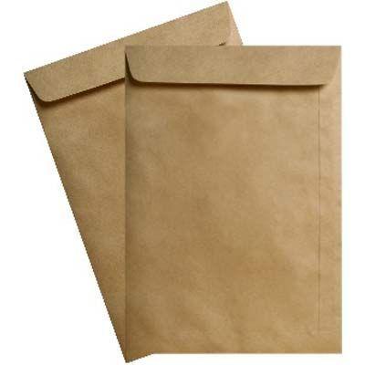 Envelpe saco 18X25 com 10 unidades kraft KN25