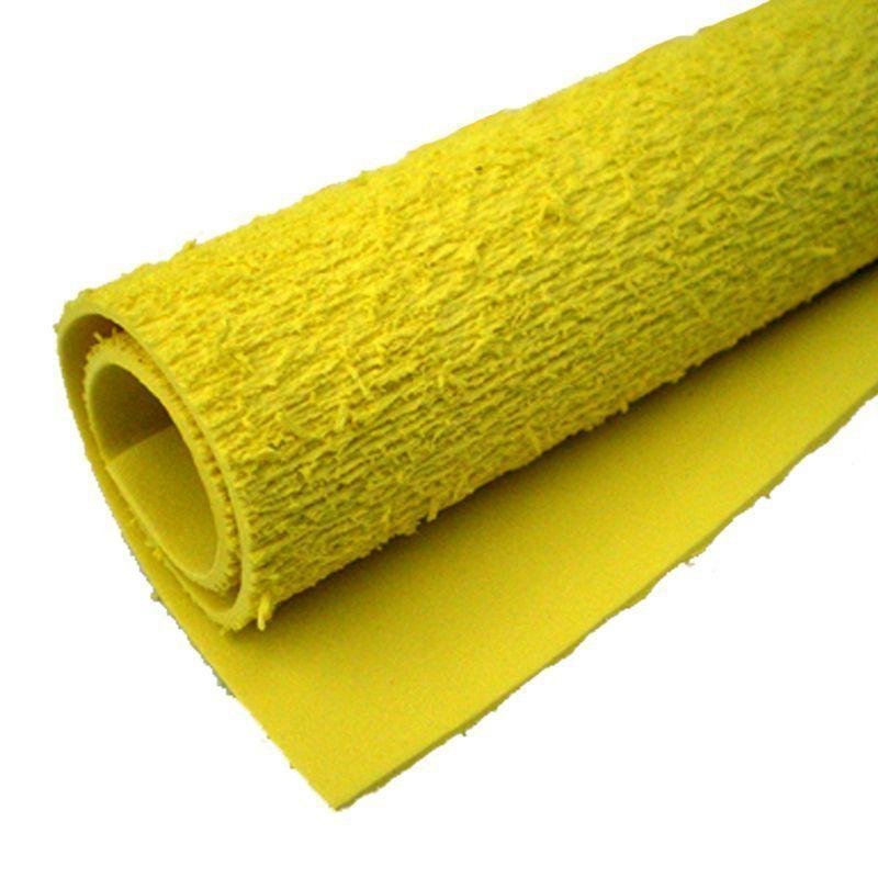 Folha de EVA 40X48cm toalha amarelo unidade