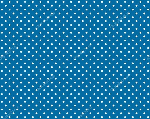 Folha EVA Decorado Azul com Bolinha Branca