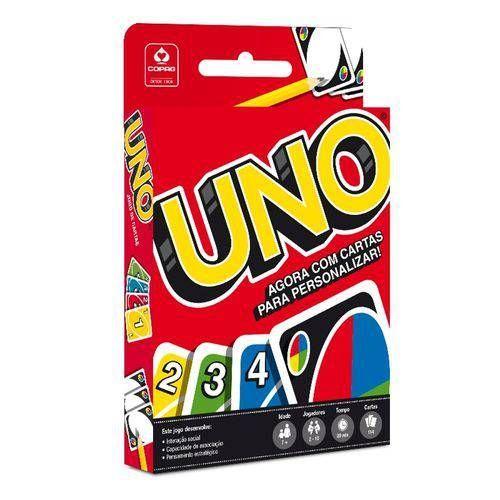 Jogo de Cartas Uno com 114 cartas Copag