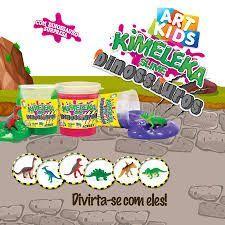 Kimeleka 180 grs Dinossauros Amarelo Limão *UNIDADE*
