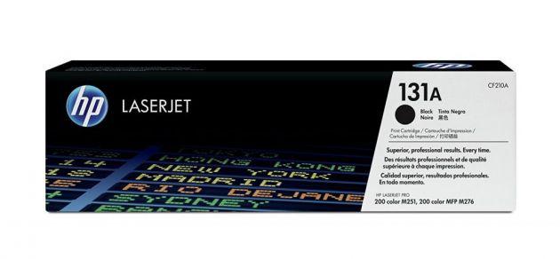 Laser toner HP CF-210-AB preto