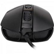 Mouse com Fio Gamer Fortrek Pro M7 RGB 4800DPI Usb Preto