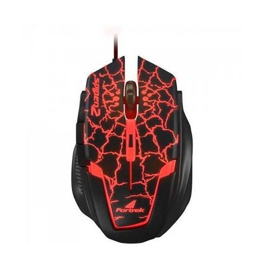 Mouse Gamer Fortrek SPIDER2 OM-705 3200DPI Usb Preto