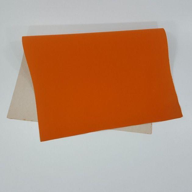 Papel Camurça 40X60 Laranja