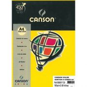 Papel Color A4 Canson 180G 08 Folhas Sortido ref 66661135