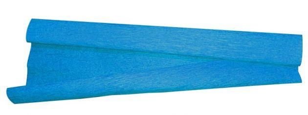 Papel crepom azul celeste comum 48X200