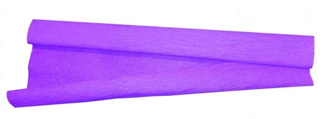 Papel crepom roxo comum 48X200