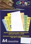 Papel Opalina Alaska Liso 120g 50 fls