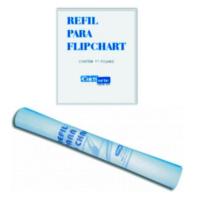 Papel para flip chart Cortiarte com 50 fls