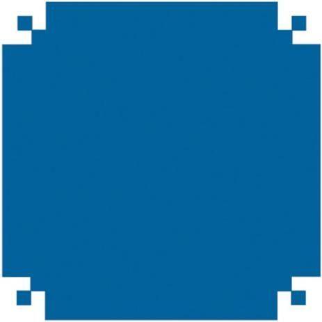 Plástico Adesivo Color Azul Fosco Vmp Metro