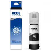 Refil Kit Recarga com 3 uni preto para HP/Lexmark/Canon