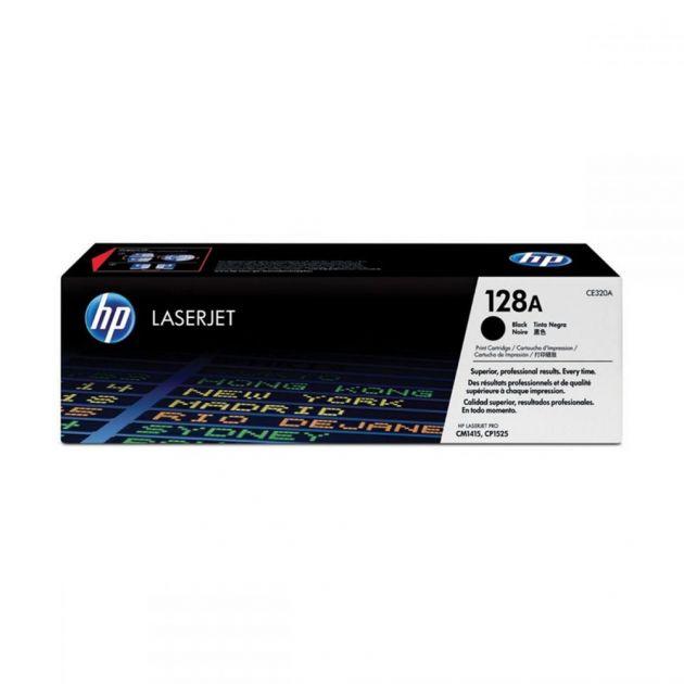 Toner HP 128A preto CE320AB